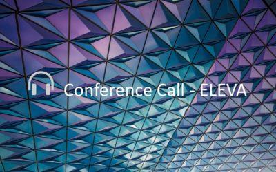 ELEVA Capital – Conference call 15 & 16 January 2019